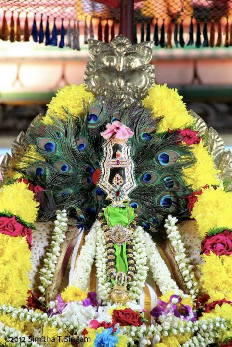 Utchava Vel of Sri Sakthi Vel Peruman