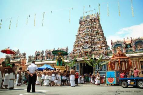 Kodiyetram Temple front